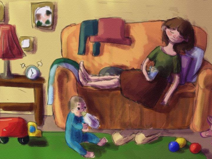6 шагов от уставшей до счастливой мамы