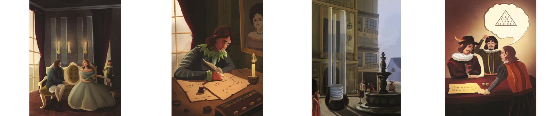 Иллюстрации к книге Блез Паскаль