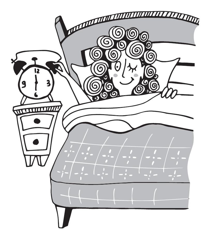 Иллюстрация Вставай рано