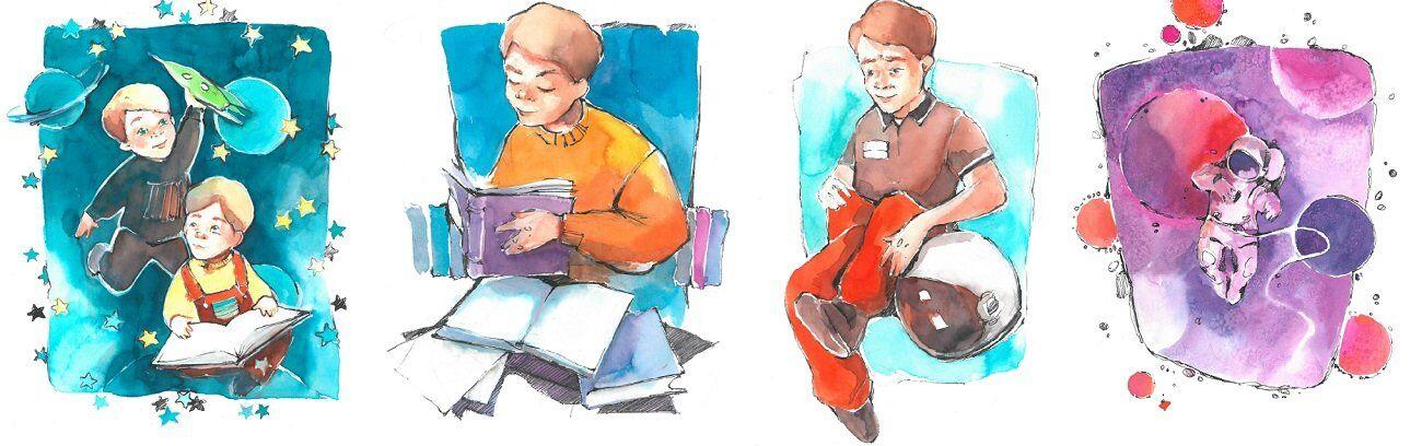 Леонід Каденюк збірка ілюстрацій 2