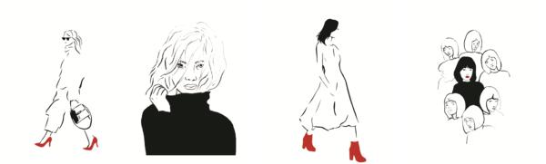 7 принципов женщины-бренда иллюстрации